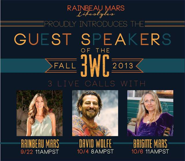3WC Fall 2013 guest speakers promo